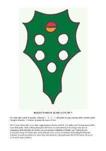 Bozzetti stemmi Rioni di Olmo 1 -12-