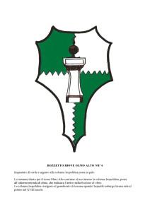 Bozzetti stemmi Rioni di Olmo 1 -13-