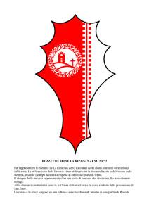 Bozzetti stemmi Rioni di Olmo 1 -2-