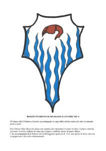 Bozzetti stemmi Rioni di Olmo 1 -20-