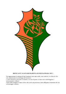 Bozzetti stemmi Rioni di Olmo 1 -22-