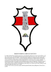 Bozzetti stemmi Rioni di Olmo 1 -3-