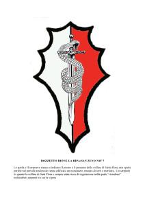 Bozzetti stemmi Rioni di Olmo 1 -7-