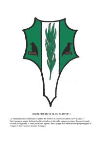 Bozzetti stemmi Rioni di Olmo 1 -8-