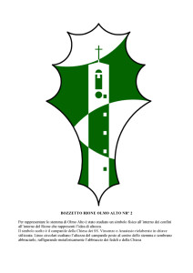 Bozzetti stemmi Rioni di Olmo 1 -9-