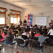 Alla Scuola Primaria di Olmo lezione sulla Giostra dei Rioni