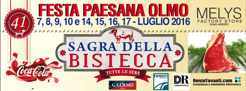 La Sagra della Bistecca di Olmo ad Arezzo
